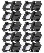 10x Triple Row 3x2 Pin 6 Pin IDS FC Female Header Cable Socket