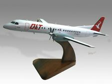 Saab 2000 OLT Wood Desktop Airplane Model
