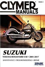 Suzuki Volusia 2001-2004 and Suzuki Boulevard C50 2005-2017 Repair Manual