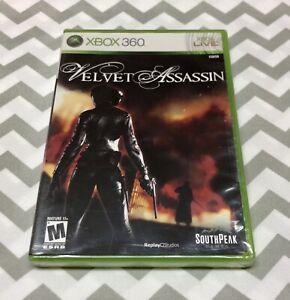 Velvet Assassin-Xbox 360. Brand New, Sealed!! Fast Shipping! 🔥🔥