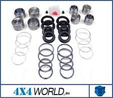For Toyota Landcruiser HJ75 FJ75 Brake Disc Caliper Kit and Pistons (8) Front