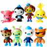 8Pcs The Octonauts Figures Octo Crew Pack Playset PVC Action Figure Doll Toys