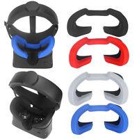 Für Oculus Rift S VR Atmungsaktiver Augenmaske Silikon Sun Hood Eye Mask Cover