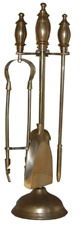 Brass Fireplace Companion Set Fireplace Accessories Fire Side Tools Poker Shovel