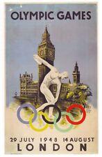 1948 jeux olympiques de Londres A3 Poster réimpression