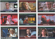 STAR TREK CLASSIC MOVIES HEROES & VILLAINS BASE SET (54) NUMBERED XXX/550 + #55