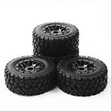 17mm Hex1:10RC Short Course Truck Tyre&Wheel Rim PP0339+PP1003k 4 TRAXXAS SLASH