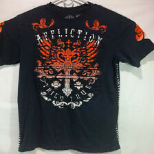 Affliction Tried True Short Sleeve Distressed T Shirt Size 2XL