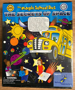 The Magic School Bus - The Secrets of Space (Scholastic) ages 5+ New Sealed