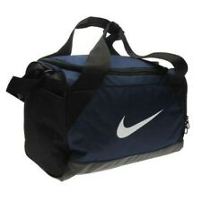 Nike Brasilia XS Navy Team Gym Sports Football Duffle Kit Bag Holdall Travel
