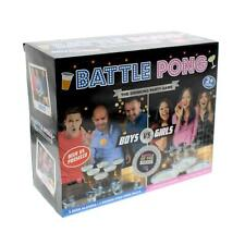Battle Beer Prosecco Pong Drinking Party Game 6 Beer 6 Prosecco Glasses 6 Balls
