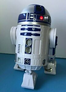 """STAR WARS DISNEY STORE R2-D2 DROID TALKING MOVING 10.5"""" INTERACTIVE ELECTRONIC"""