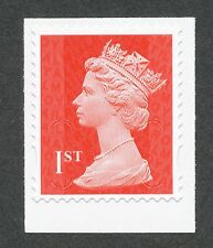 "2014 ""M14L"" ""MTIL"" 1st Class RM Red MACHIN Single Stamp fm Book of 12"