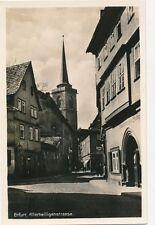Ak, Erfurt Allerheiligenstrasse, G1908