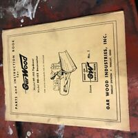 GARWOOD 153 DOZER TRACTOR PARTS OPERATION MAINTENANCE MANUAL ALLIS-CHALMERS
