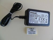 DLink 12V / 1.2A UK DC power supply #1800