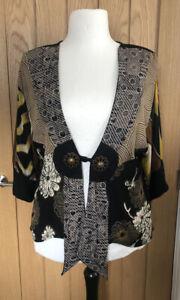 Dreamkeeper Collection Japanese Oriental Boho Artisan Style Jacket Plus 16 18