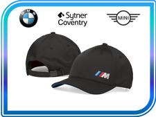 Genuine BMW Black Embroidered M-Performance Cap 80162454739