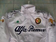 NEU Alfa Romeo Fan - Jacke weiß (dunkelblau) jacket veste jas giacca jakka