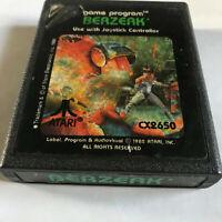 Berzerk / Cart Only / Atari 2600 / Tested & Working / 7800 / #2