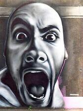 ART PRINT POSTER PAINTING DRAWING COOL GRAFFITI STREET SCREAM LFMP1011