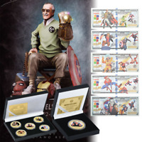 Stan Lee's Marvel Outstanding Master Coin & Plastic Banknote Collection Gift