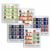 1920s-1940s Set Of 12 Dolls House Miniature Mixed Food Labels