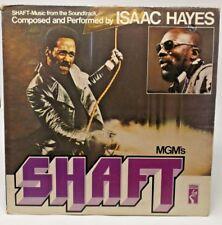 "Isaac Hayes ""Shaft"" gatefold sleeve double LP"