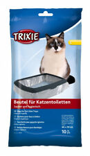 TRIXIE CAT KITTEN LARGE LITTER TRAY LINERS 10 PACK CLEAR FITS BILL  VICO 46 X 59
