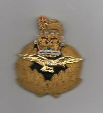 ROYAL AIR FORCE - AIR OFFICERS CAP BADGE - SUPERB QUALITY