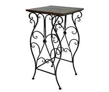 style ancienne sellette console table d appoint gigogne gueridon en fer bois