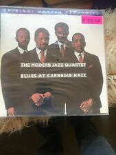 The Modern Jazz Quartet LP/Blues At Carnegie Hall MSFL. FACTORY SEALED