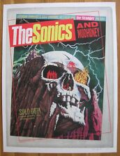 SONICS & MUDHONEY 2013 Seattle SCREENED Poster Ltd #15/150 GARAGE Punk Grunge