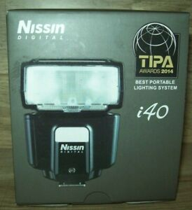 Nissin i40 Compact Flash for Micro Four Thirds Cameras (Olympus, Panasonic)