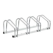 [neu.haus] Soporte para 4 bicicletas de suelo acero galvanizado aparcabicicletas