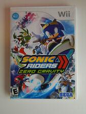 Sonic Riders: Zero Gravity Game in Case! NIntendo Wii