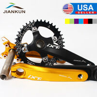 30-42t 104BCD 170mm Crankset MTB Bike Crank Narrow Wide Chainring Chainwheel CNC