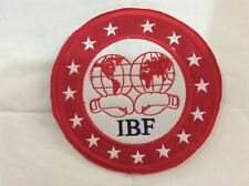 Patch IBF International Boxing Federation - World Champion