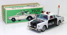 """Vintage Ichiko # 1960's VW / VOLKSWAGEN KARMANN GHIA """"POLIS"""" with Original Box !"""