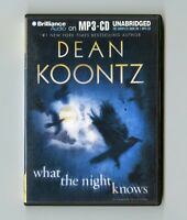 What the Night Knows - by Dean Koontz - MP3CD - Audiobook
