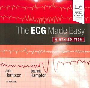 The ECG Made Easy by John Hampton 9780702074578   Brand New   Free UK Shipping