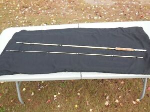 "SUPER CLEAN SHAKESPEARE 8'0"" WONDEROD HOWALD PROCESS FLY FISHING ROD MODEL 1439"