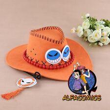 ONE PIECE Sombrero CINDY D. ACE perfecto para COSPLAY! ¡ONE zoro nami cap hat