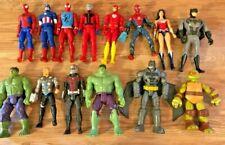 "New listing Marvel & Dc Superhero 12"" Figures Lot 12-Inch, Batman, Hulk, Ant Man, Spider-Man"