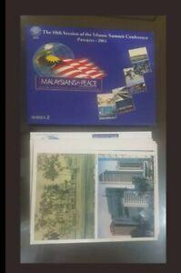 2003 OIC kemuncak Islam postcard 12 pcs limited issue