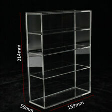 214 x 159 x 59mm Four-layer Acrylic Display Box Show Case Sliding Door For Mini