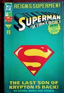 DC Comics. Superman in Action Comics: Reign of Supermen. No. 687, June 1993