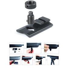 Rifle Bipod Attachment Adapter Mount Sling Stud Swivel Picatinny Slot Adaptor BK