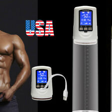 Big screen Electric Beginner Male Penis Pump Enlargement Enhance Men Strong Tool