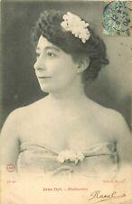 SPECTACLE. Artiste Comédienne Chanteuse. Jane Dyt aux Mathurins 1904